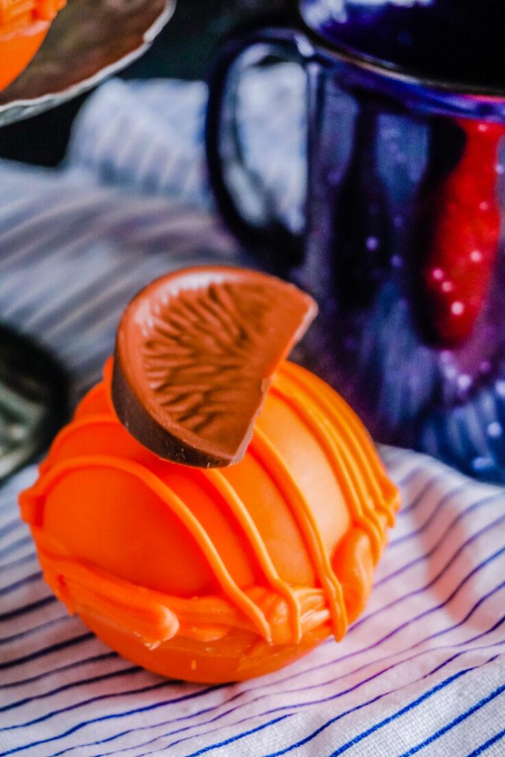 Orange Hot Chocolate Bombs