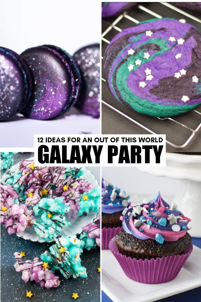 Check out these 12 Galaxy Themed Birthday Ideas for an out of this world celebration that is sure to be a total hit!