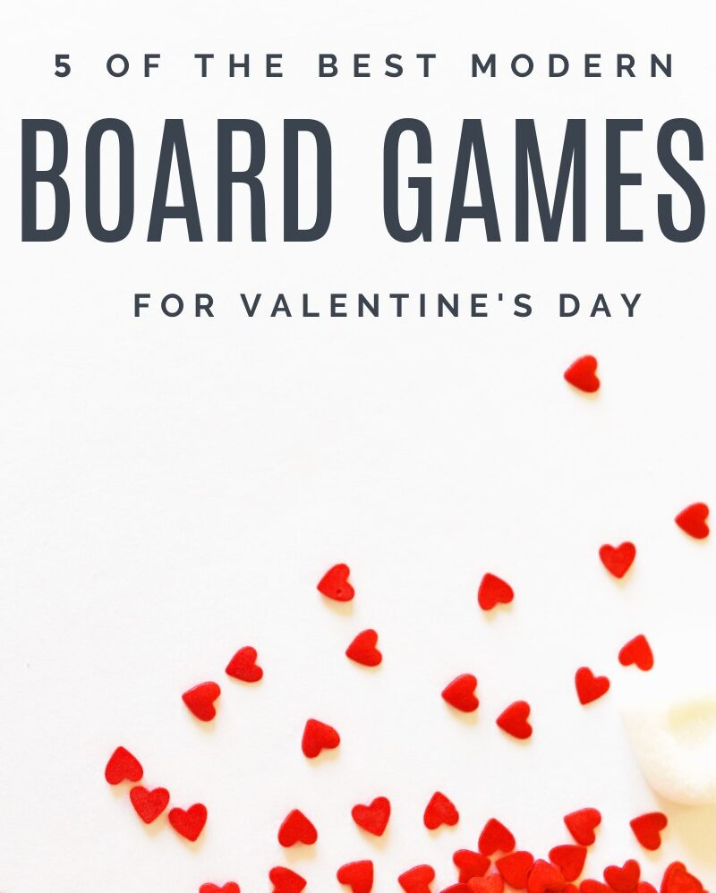 5 Best Board Games to Play on Valentine's Day