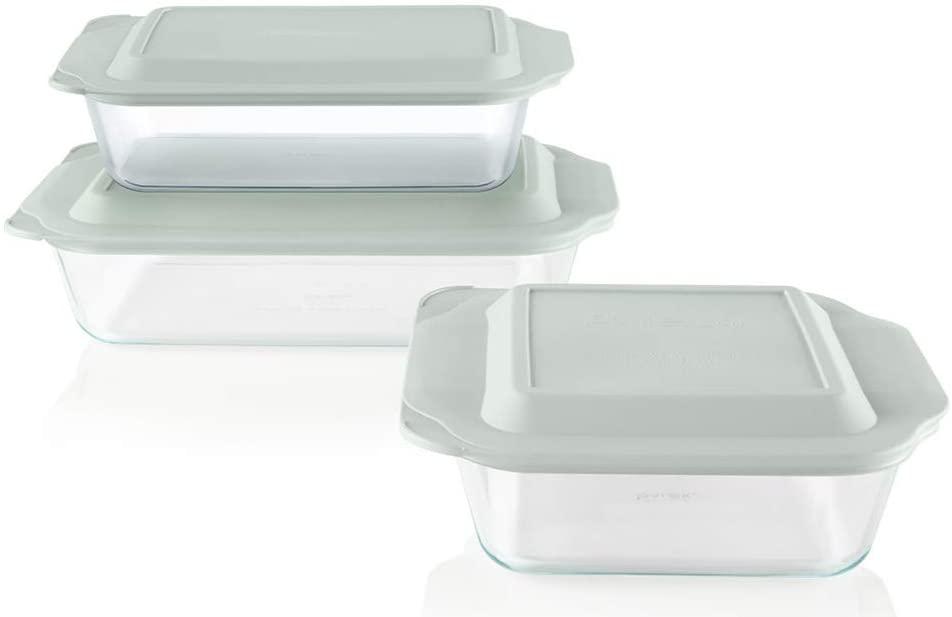 Pyrex Deep Baking Dish Set