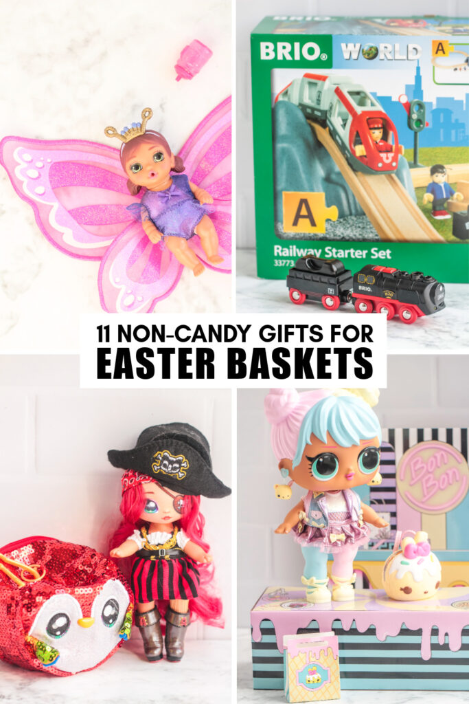 Skip the sugar this Easter with these 11 Non-Candy Easter basket ideas that are so fun your kids are sure not to miss the sweets!