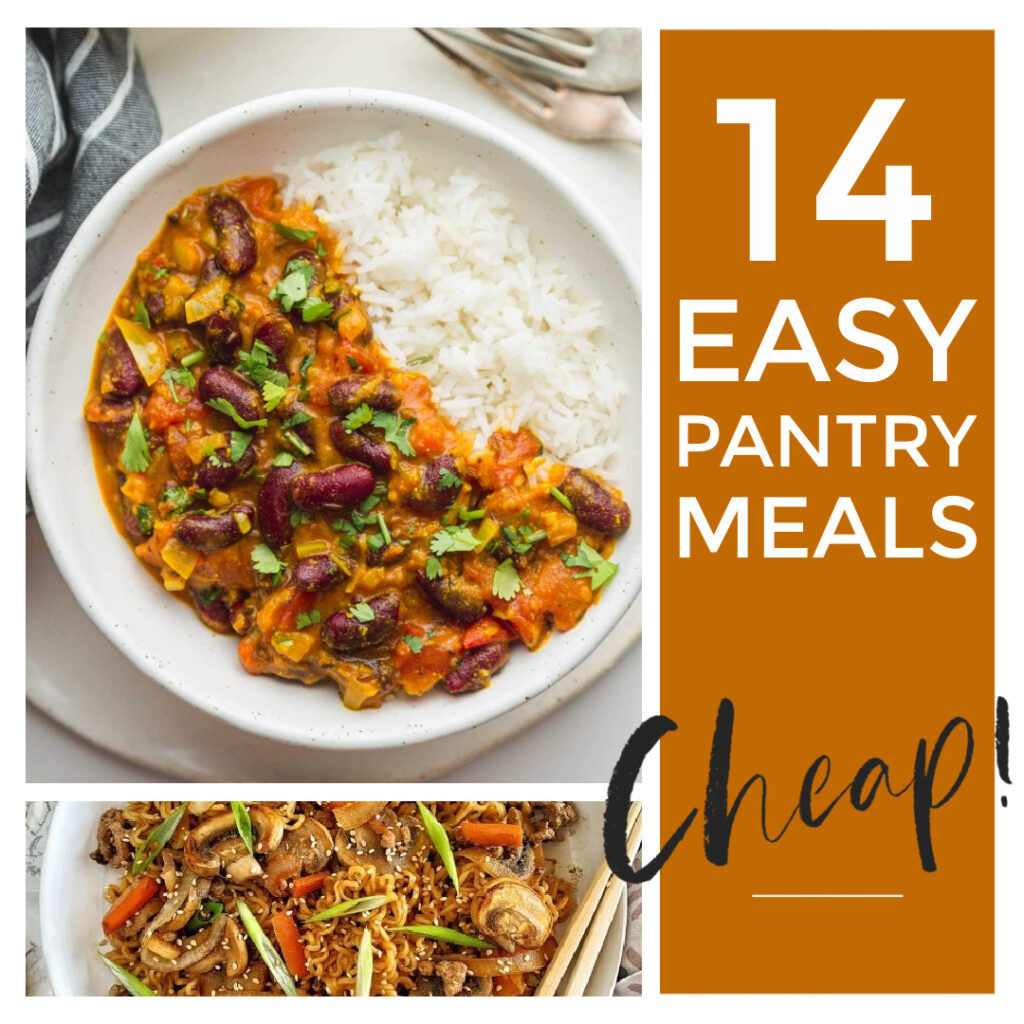 Easy pantry meals are a great way to make a quick and delicious dinner that only require a few basic ingredients.