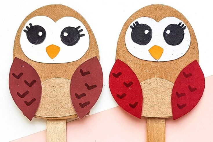 Papercraft Owl Puppet