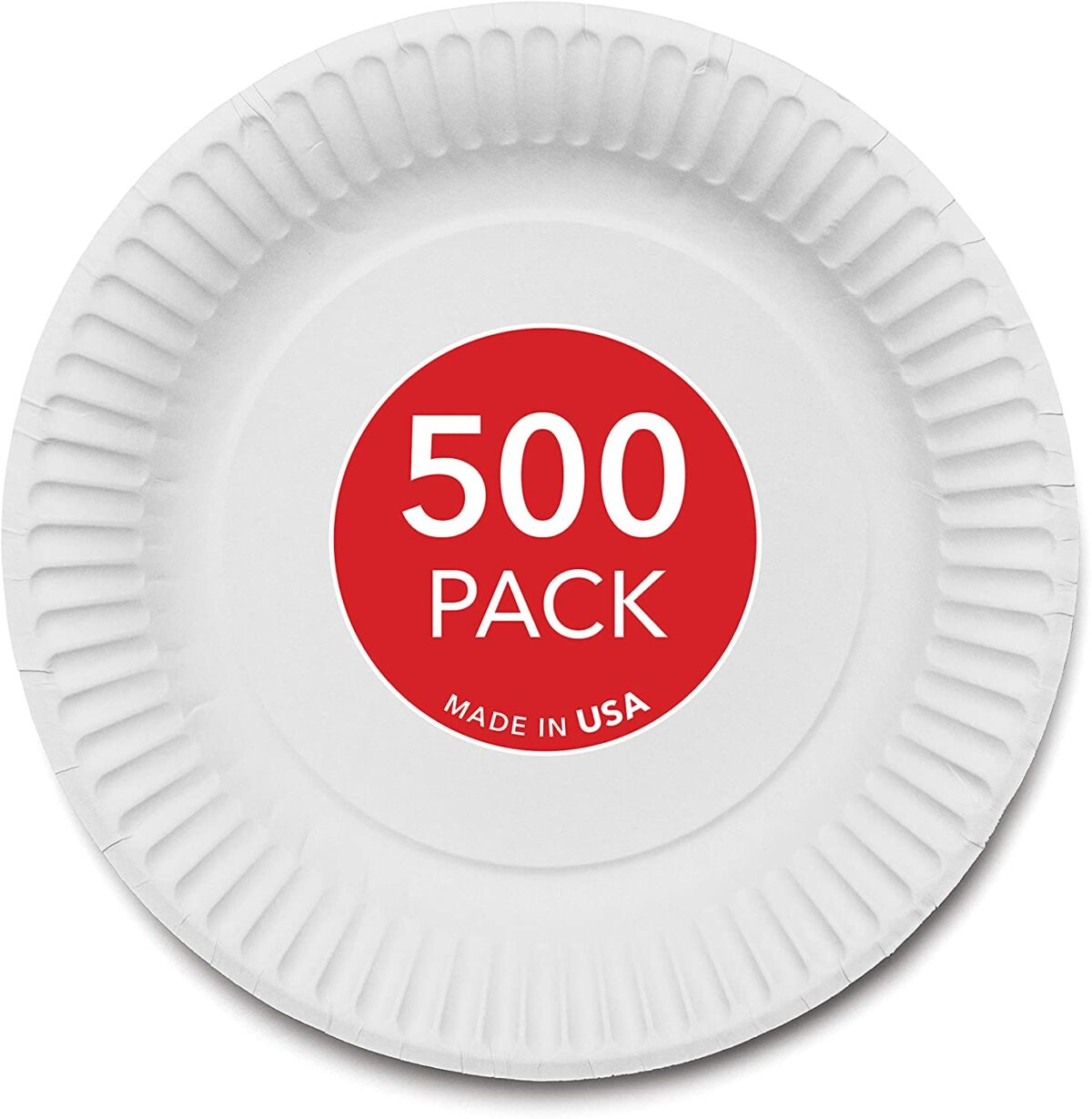 9-Inch Paper Plates
