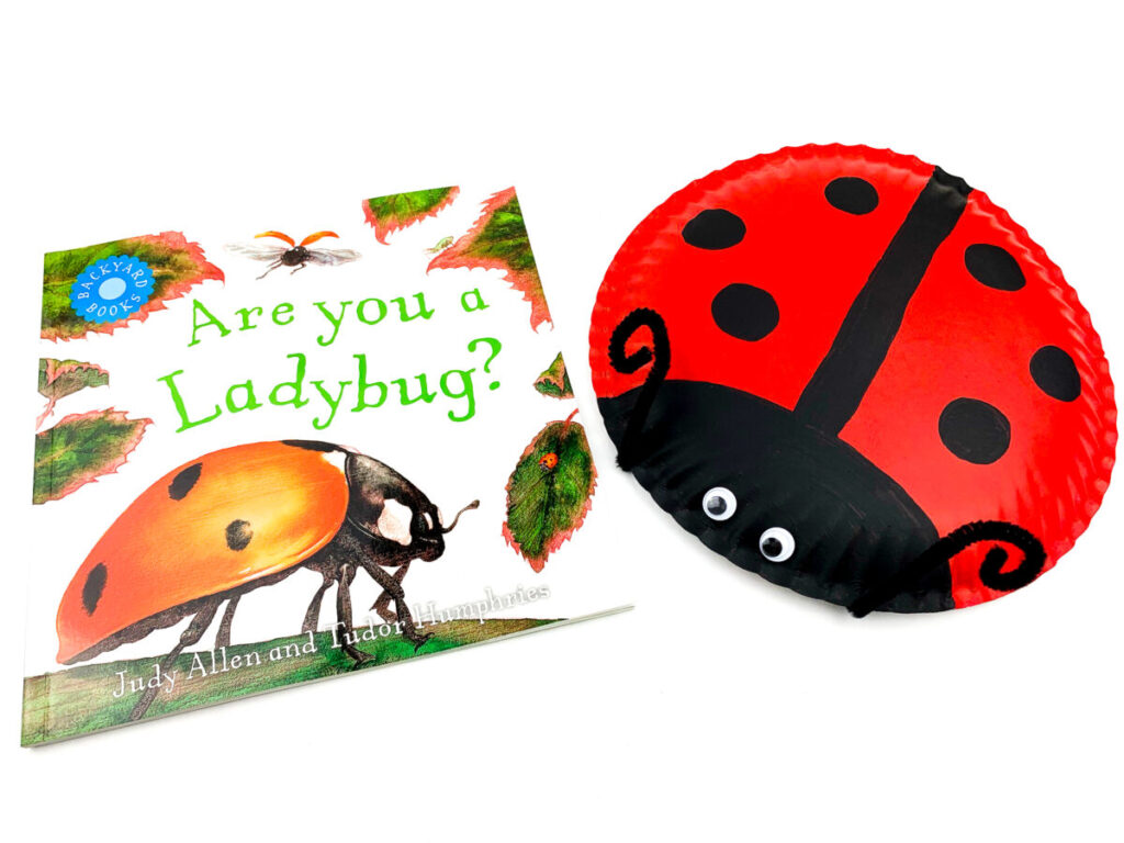 An easy Ladybug Paper Plate Craft for kids to make this spring. Make it just for fun, or as part of a study on bugs.