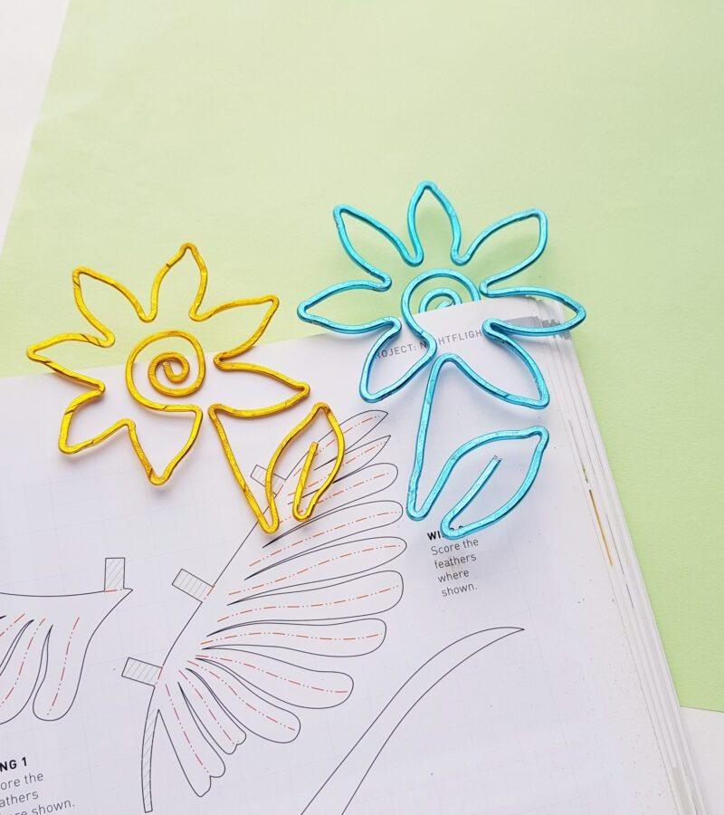 Flower Wire Bookmarks