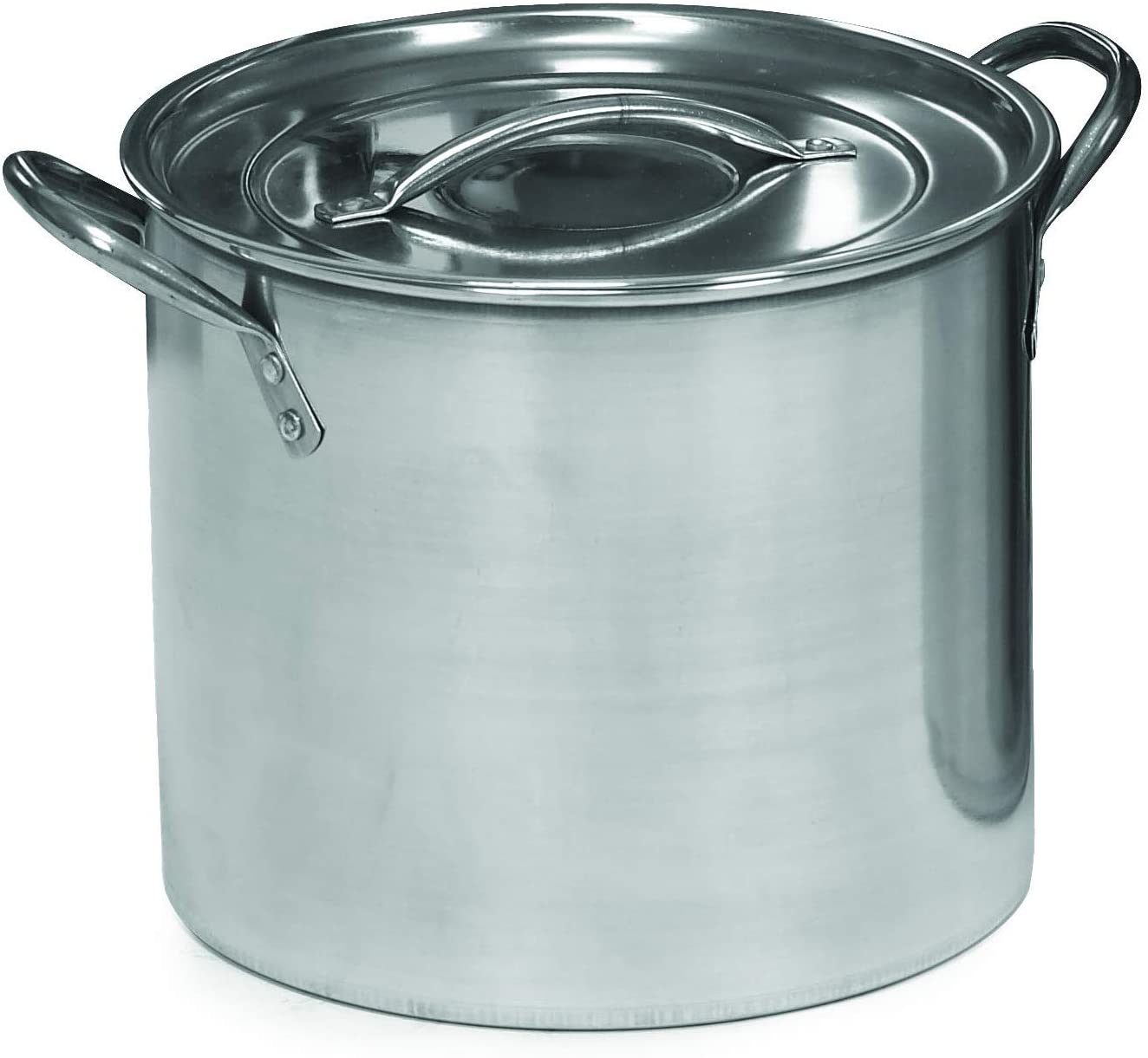 Stainless Steel Stock Pot with Lid 16-Quart