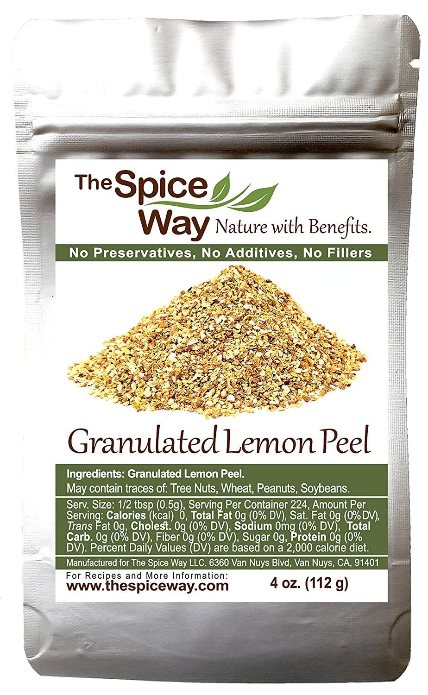 The Spice Way Lemon Peel