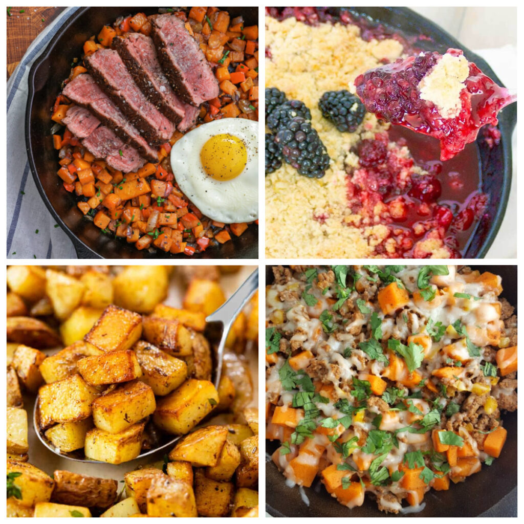 If you are planning your menu for your upcoming camping trip, these tasty pie iron and cast iron recipes for camping are sure to be a hit.