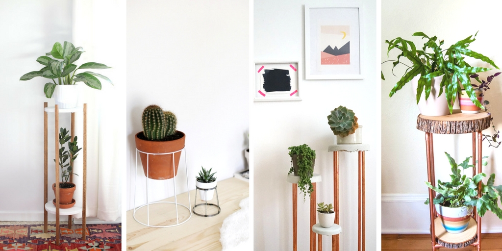 These 20 thrifty diy plant stands are very easy projects you can make yourself. I'm sharing some of my favourite DIY plant stands today.
