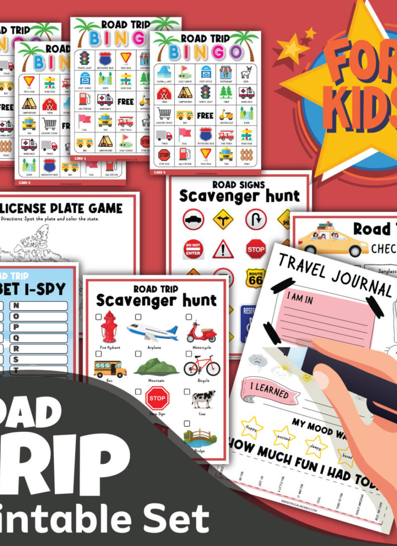 21 Super Fun Road Trip Activities for Kids