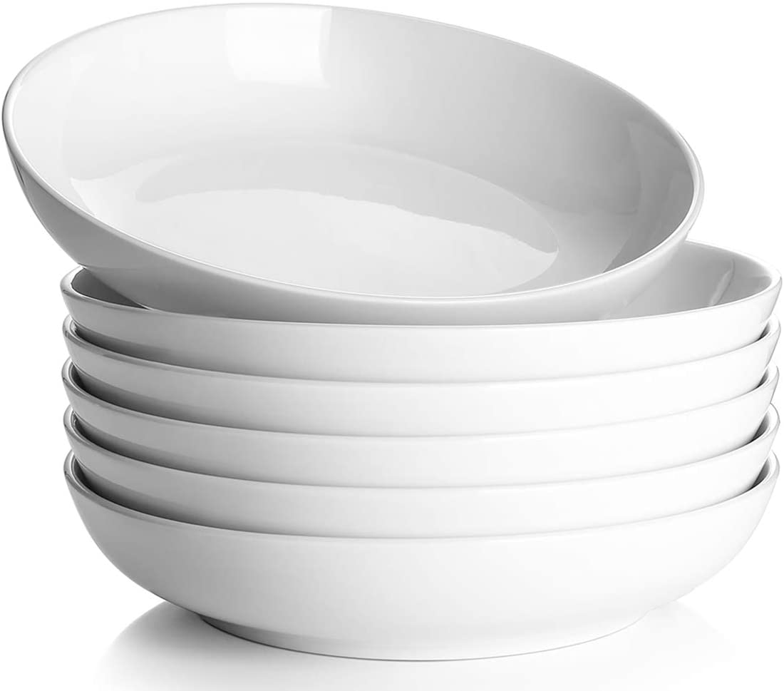Y YHY White Bowls, Set of 6
