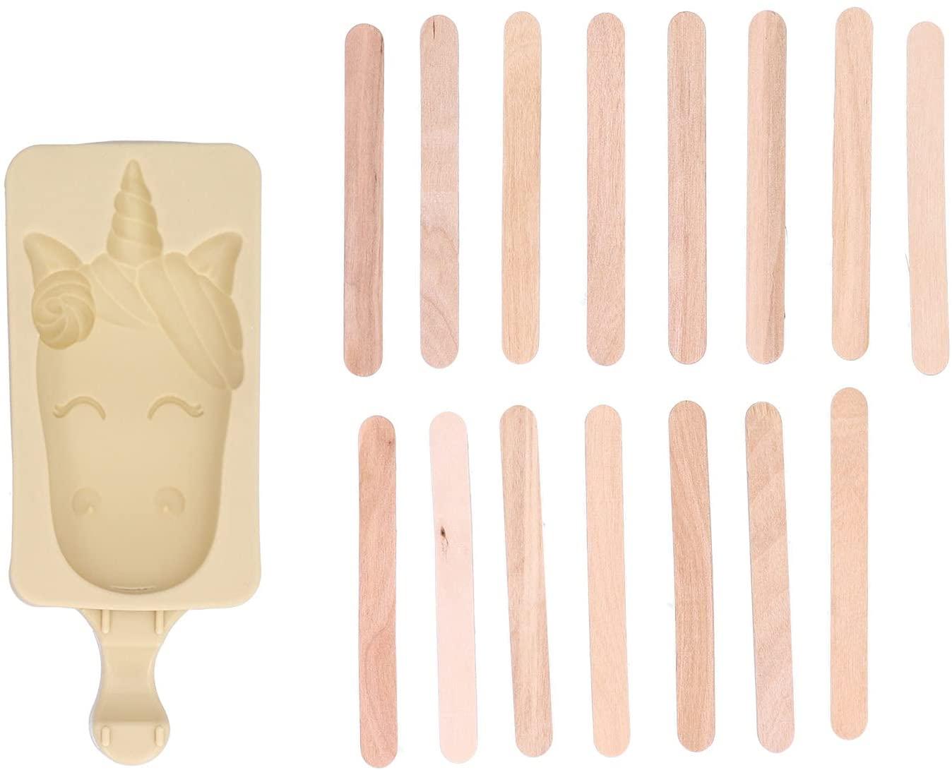 Unicorn Silicone Popsicle Mould