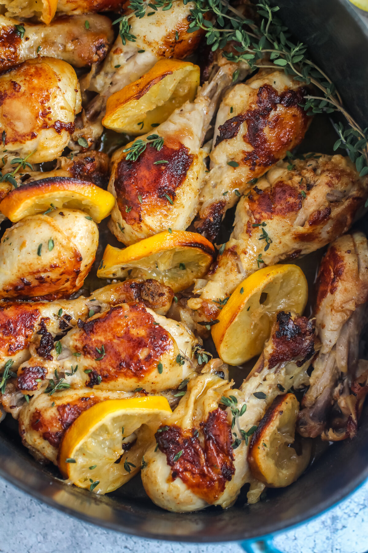 Easy lemon butter chicken drumsticks are the best weeknight dinner! With just a few ingredients, this recipe is sure to be a family favourite.