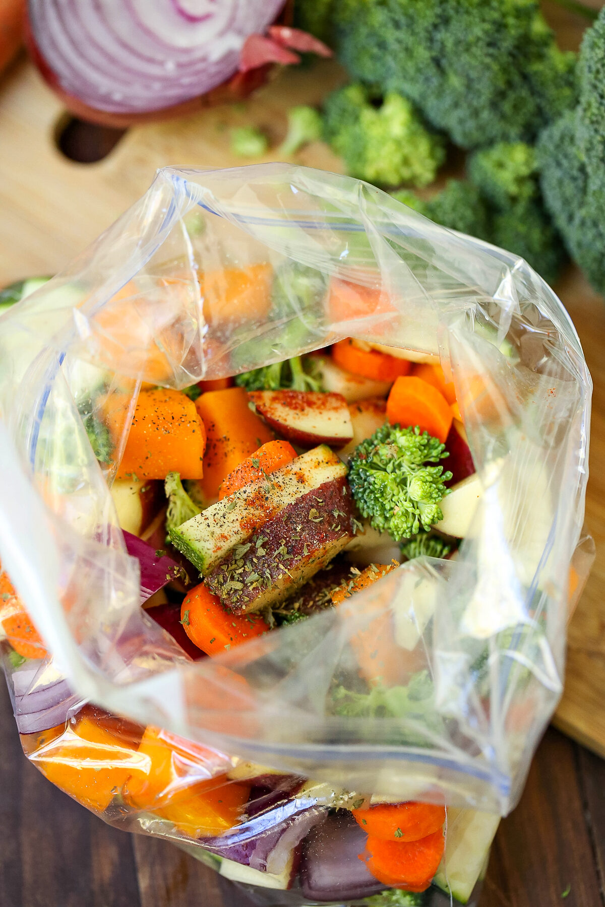Oven-Roasted Vegetables are a great side dish for any meal, and this recipe is an easy and delicious way to prepare them.