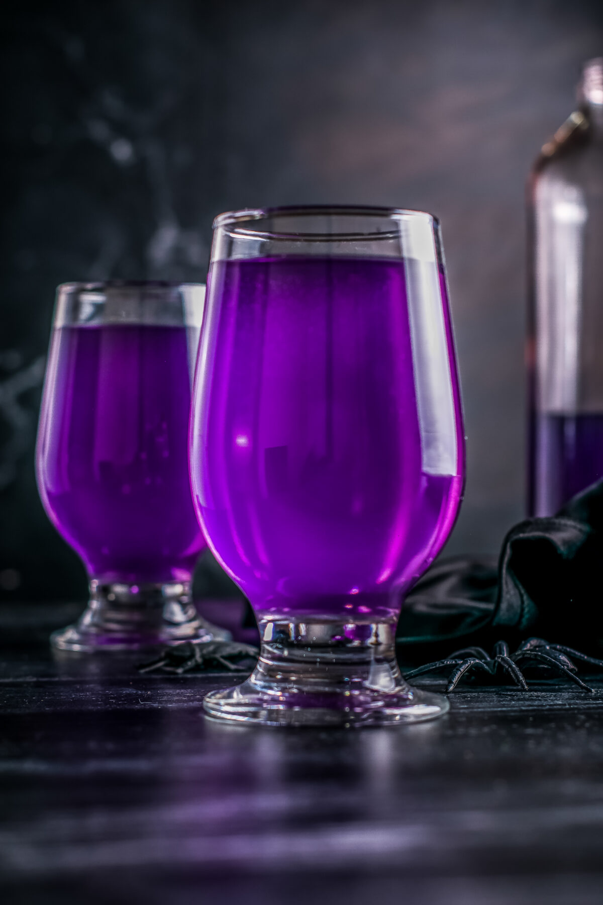 Purple People Eater Halloween Punch is a fun and easy non-alcoholic punch recipe that kids will love for this year's Halloween party.