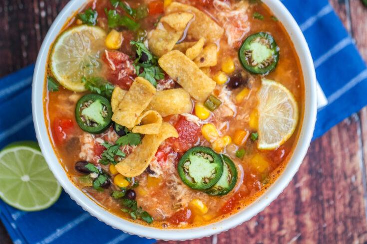 Instant Pot Santa Fe Chicken Soup