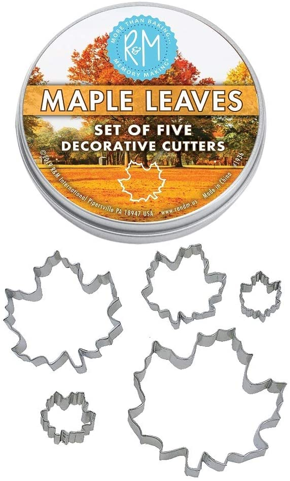 Maple Leaf Cookie Cutters